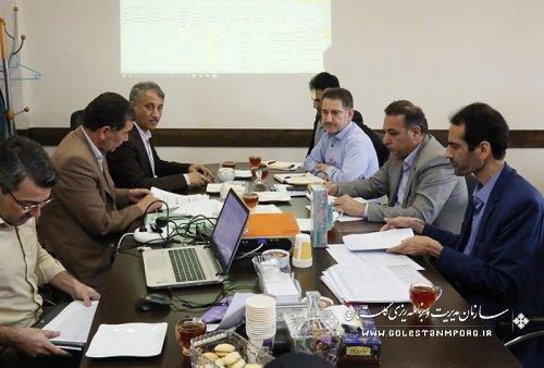 جلسه هم اندیشی برنامه های توسعه سال ۱۳۹۷ شهرستان های استان با حضور فرمانداران