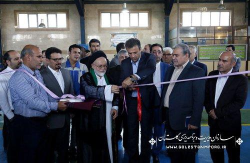 افتتاح پروژه های عمرانی هفته دولت شهرستان مینودشت با حضور مهندس پیش قدم