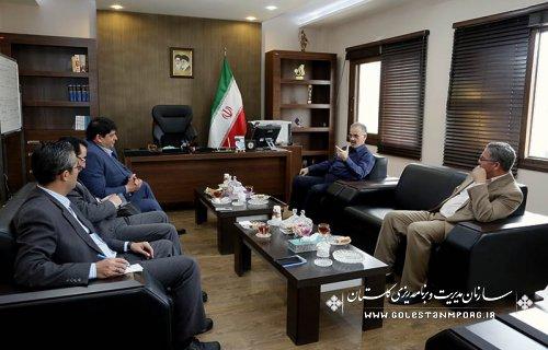 گزارش تصویری ازدیدار مدیران وفرمانداران شهرستانهای استان با دکتر روزبهان رئیس سازمان