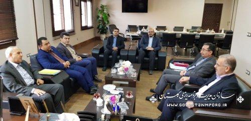 گزارش تصویری از دیدار مدیران دستگاههای اجرایی با دکتر روزبهان رئیس سازمان