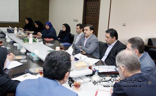 برگزاری جلسه دکتر روزبهان با همکاران معاونت هماهنگی برنامه ریزی وبودجه سازمان