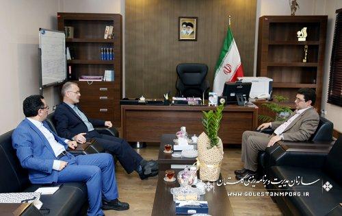 گزارش تصویری از دیدار مدیران دستگاههای اجرایی با دکتر روزبهان رئیس سازمان بخش سوم