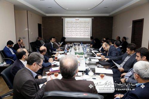 جلسه ستاد درامد استان