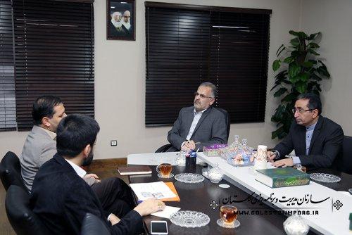 گزارش تصویری دیدار مدیران دستگاههای اجرایی با دکتر روزبهان