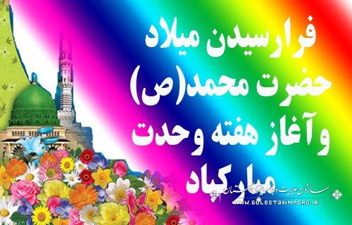 پیام تبریک دکتر روزبهان رئیس سازمان مدیریت وبرنامه ریزی استان گلستان  به مناسبت آغاز هفته وحدت