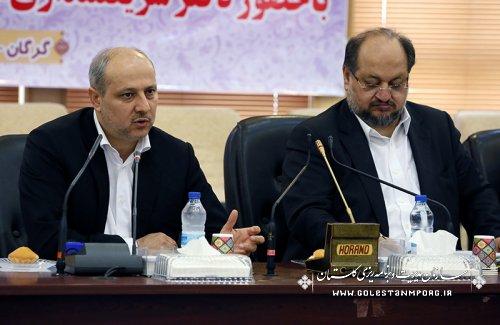دکتر هاشمی استاندار :گلستان رتبه دوم پرداخت تسهیلات رونق تولید در کشور را داراست