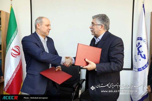 استانداری گلستان و جهاددانشگاهی تفاهم نامه همکاری امضا کردند