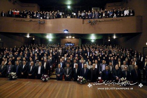 برگزاری همایش استانی روز حسابدار در تالار فخرالدین اسعد گرگانی