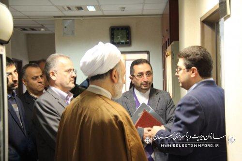 بازدید آقای روزبهان رئیس سازمان از پروژه های درحال احداث اداره کل پزشک قانونی استان