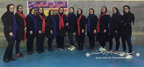 کسب رتبه سوم تیم والیبال بانوان سازمان در مسابقات دهه مبارک فجر