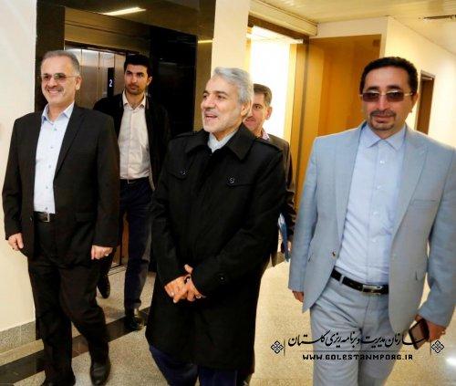 دکتر نوبخت:اتحاد و وحدت مردم خطه ترکمن صحرا  نشان از یک غنای فرهنگی و بافت مذهبی این منطقه از کشور عزیزمان ایران  می باشد.