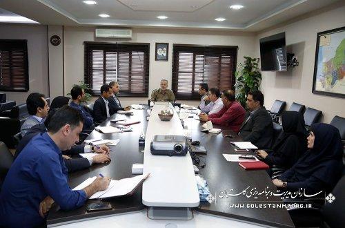 برگزاری اولین جلسه درون سازمانی کمیته هماهنگی وپیگیری امور بازسازی وجبران خسارت سیل در سازمان