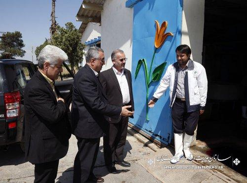 بازدید رئیس سازمان از مرکز بازسازی و حفاظت از ذخایر ژنتیکی ماهیان خاویاری شهید مرجانی