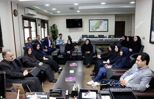 حضور همکاران سازمان در دفترآقای روزبهان برای عرض تسلیت درگذشت والده گرامیشان