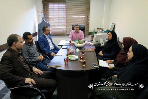 برگزاری جلسه شورای ورزشی سازمان