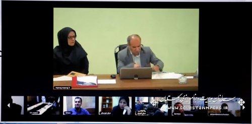برگزاری یکپارچه  وبینار مدیریت روابط عمومی در سازمان مدیریت و برنامه ریزی استان ها
