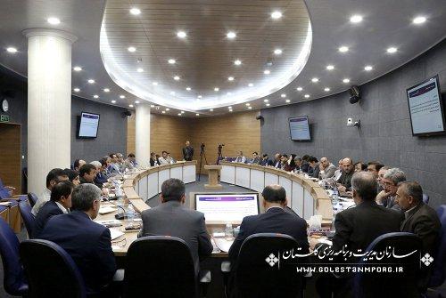برگزاری چهل ونهمین جلسه ستاد فرماندهی اقتصاد مقاومتی استان گلستان