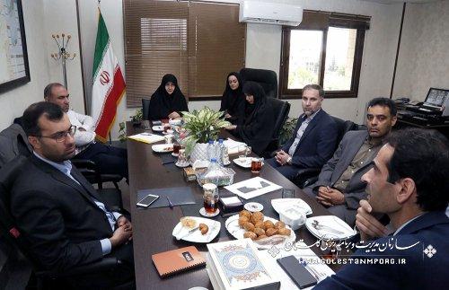 نشست مدیران حراست سازمان مدیریت وبرنامه ریزی استانهای منطقه یک