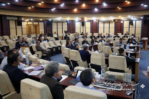 برگزاری دومین جلسه شورای برنامه ریزی و توسعه استان