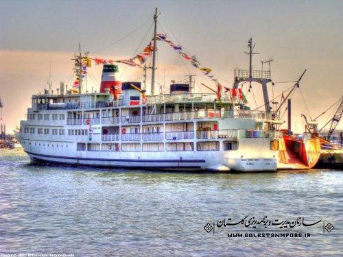 روزبهان:ارتباط دریایی شرق وغرب دریای خزر با کشتی می تواند در توسعه شمال کشور وجذب گردشگر تاثیربگذارد