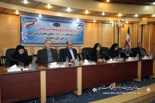 استاندار گلستان در شورای برنامه ریزی و توسعه استان؛ تلاش ما ارتقا شاخص های استان است/