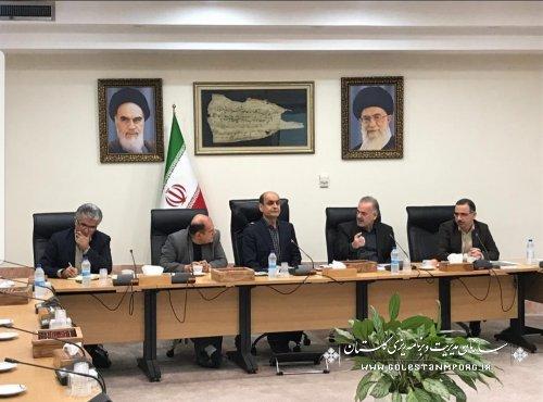 جلسه شورای راهبری توسعه مدیریت استان