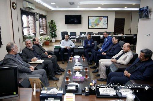 دیدار  معاون ستاد اقامه نماز کشور با آقای روزبهان رئیس سازمان