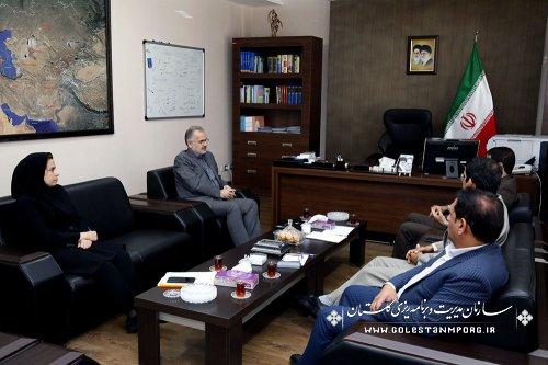 دیدار مدیرکل ومعاونین راهداری وپایانه های استان با آقای روزبهان