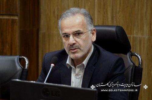 محمد ولی روزبهان رئیس سازمان مدیریت و برنامه ریزی استان گلستان ، به مناسبت اول آبان