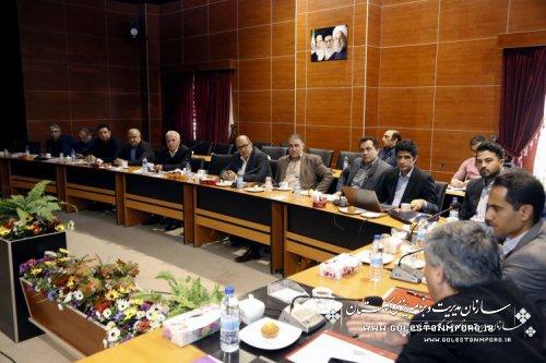 ششمین جلسه شورای فنی استان در سال 1398