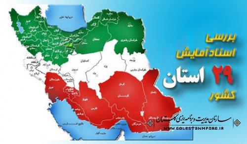 سازمان برنامه و بودجه اعلام کرد: بررسي اسناد آمايش ۲۹ استان كشور خاتمه يافت