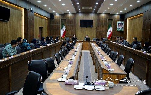 جلسه آقای عابدی رئیس سازمان با همکاران معاونتها ومدیریتهای سازمان به صورت جداگانه