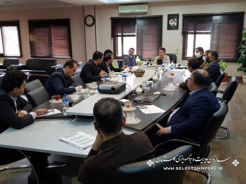 دیدار آقای عابدی رئیس سازمان با مدیران دستگاههای اجرایی
