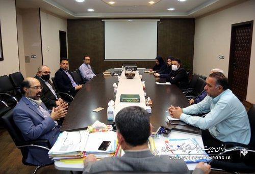 دیدار مدیرعامل شرکت آب منطقه ای با آقای عابدی رئیس سازمان