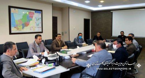 بررسی وضعیت زمین ورزشی  قلعه حسن گرگان