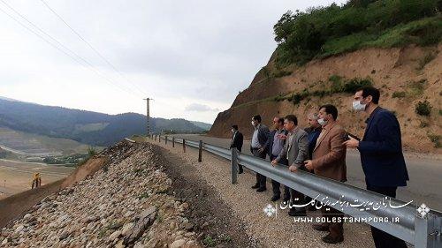 بازدید رئیس سازمان از روستاهای مورد جابجایی ،واقع در کاسه سد نرماب  وروند اجرای سد