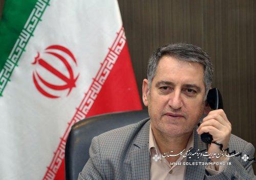 مصاحبه تلفنی رئیس سازمان با صدا وسیما در خصوص فعالیتهای انجام شده در توسعه مناطق روستایی