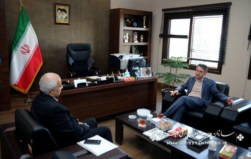 گزارش تصویری دیدار مدیران دستگاههای اجرایی با رئیس سازمان