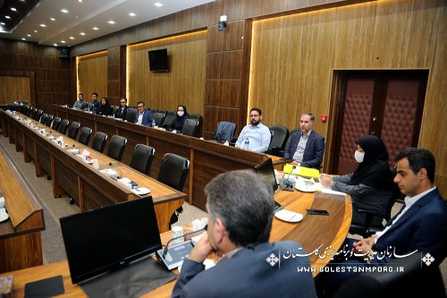 برگزاری جلسه مصاحبه با قبول شدگان آزمون استخدامی سازمان مدیریت وبرنامه ریزی استان گلستان