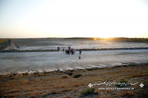 بازدید رئیس سازمان از اجرای طرح های آبخیزداری و آبخوان داری استان