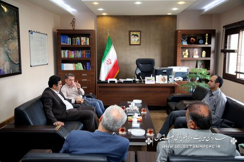 دیدار رئیس سازمان با مدیران دستگاههای اجرایی وانتظامی استان