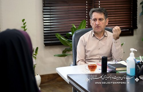 دیدار رئیس سازمان با مدیران دستگاههای اجرایی استان گلستان