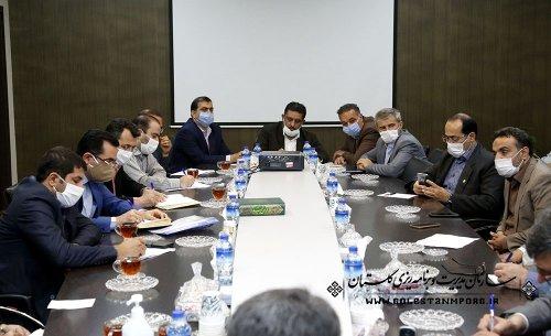 جلسه هماهنگی نحوه مشارکت بسیج سازندگی در پروژه های محرومیت زدایی استان