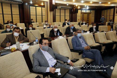 برگزاری دومین جلسه شورای برنامه ریزی استان گلستان