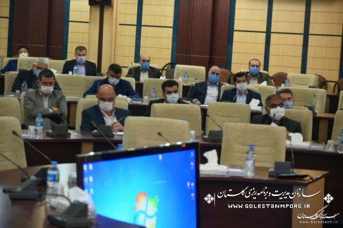حضور رئیس سازمان در جلسه ستاد بازسازی و نوسازی مناطق سیل زده استان