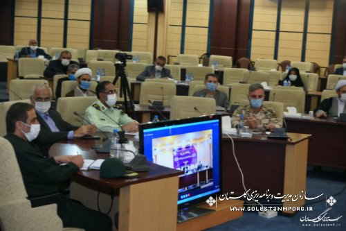 حضور رئیس سازمان در جلسه شورای هماهنگی حفظ آثار و نشر ارزش های دفاع مقدس استان