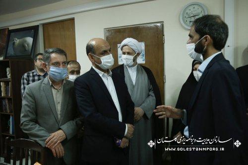 حضور رئیس سازمان در جشن 87 سالگی ایرنا در استان گلستان