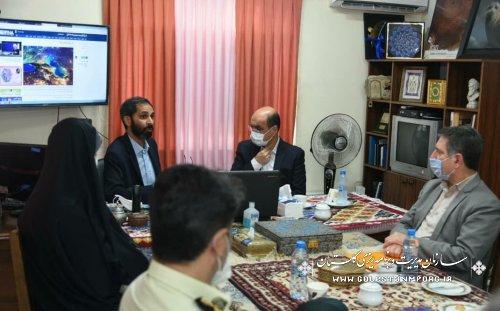 رئیس سازمان:نقش محوری خبرنگاران ایرنا در مطالبه گری و شناسایی دغدغه های استان