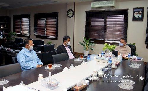 نشست رئیس سازمان با شهردار محترم علی آباد کتول
