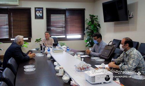 نشست رئیس سازمان با رئیس سازمان صنعت،معدن و تجارت استان
